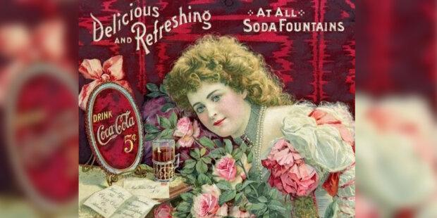 Jak vypadala první reklamní tvář Coca-Coly v 19. století