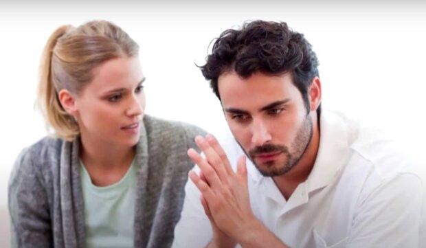 Muž a žena. Foto: snímek obrazovky YouTube