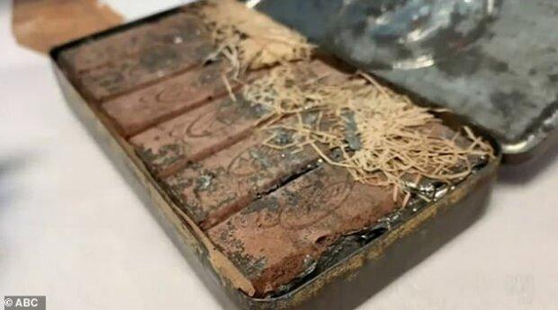 """""""Žádná doba trvanlivosti"""": Vědci našli v osobních věcech slavného spisovatele 120 let starou krabičku na čokoládu a sladkosti jsou stále jedlé"""