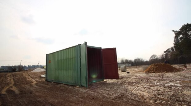 Přepravník. Foto: snímek obrazovky YouTube