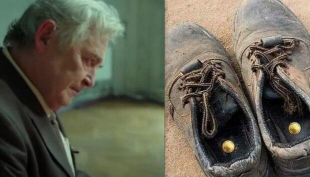Staré boty. Foto: snímek obrazovky YouTube