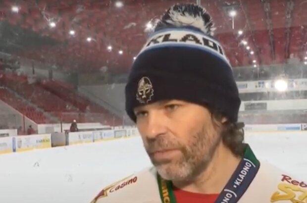 Nejvyšší čas skončit s hokejem: Jaromír Jágr, který za rok oslaví již kulaté padesáté řekl, co si o tom myslí