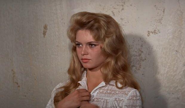Brigitte Bardot. Foto: snímek obrazovky YouTube