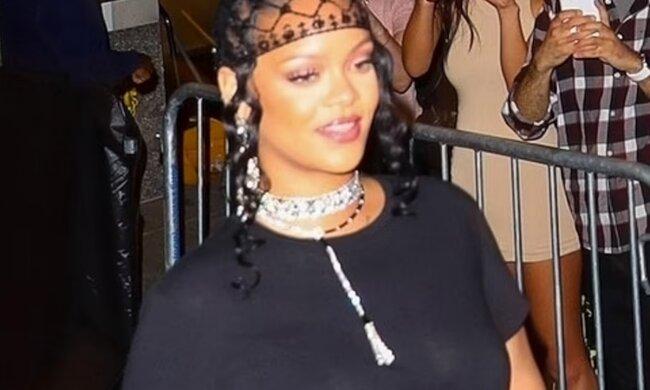 Rihanna. Foto: snímek obrazovky dailymail.co.uk