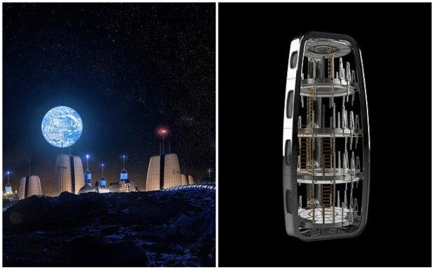 Pěkný výhled, ale nedostatek atmosféry: nové snímky ukazují, jak by mohl vypadat domov pro první astronauty žijící na Měsíci