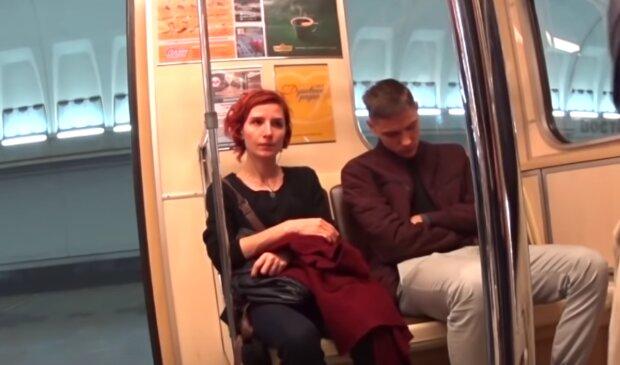 Incident v autobuse. Foto: snímek obrazovky YouTube