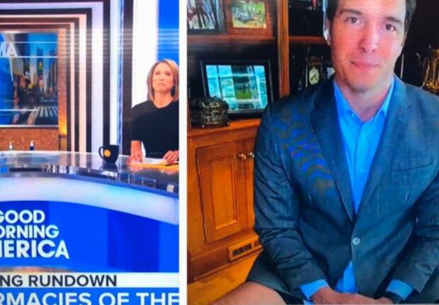 Korespondent vystoupil v přenosu bez kalhot při práci z domova:  živé vysílání viděli všichni. Musel se omluvit