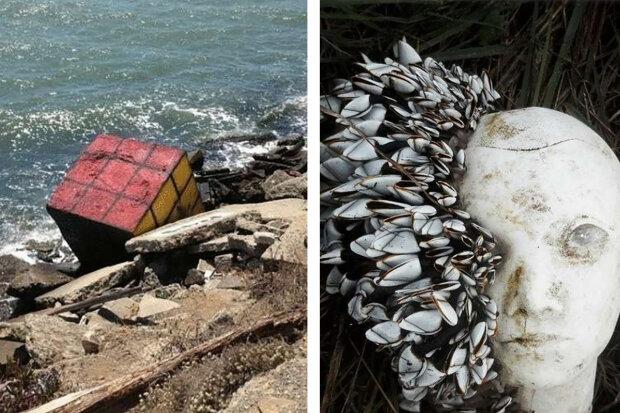 Nejpodivnější věci, které lidé kdy našli na plážích. Někdy z toho může jít strach a někdy by vás to překvapilo