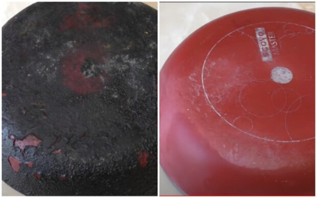 Jak odstranit mastnotu a rez z pánve: fungující metody