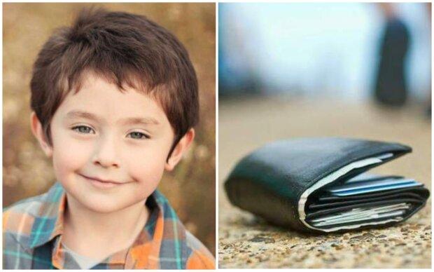 Chlapec vrátil peněženku milionáři a požádal ho jen o dolar. Chlapovy čisté úmysly a laskavé srdce se bohatého muže dotkly