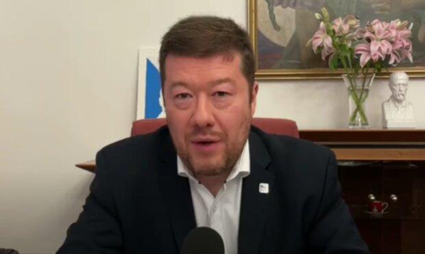 Tomio Okamura. Foto: snímek obrazovky YouTube
