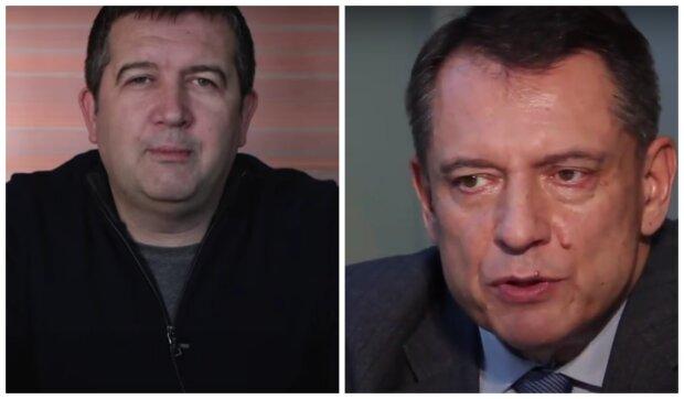 Jan Hamáček a Jiří Paroubek. Foto: snímek obrazovky YouTube