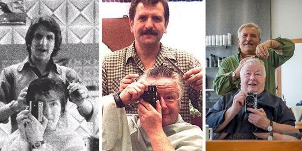 Už 47 let chodí muž ke stejnému kadeřníkovi: jak se změnili kamarádi