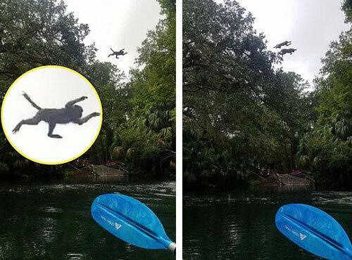 Opice ukázaly turistům, jak se potápět