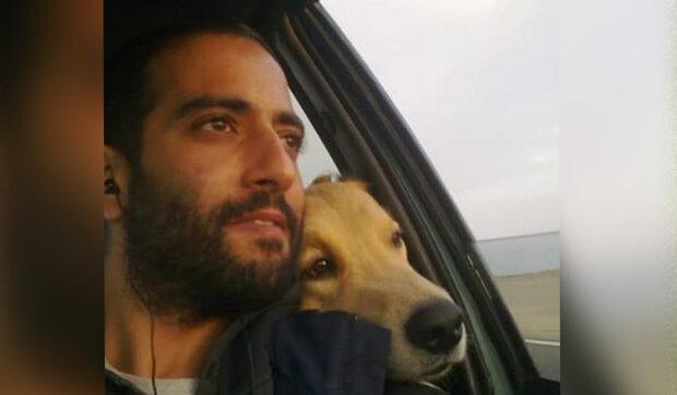 """""""Láska psů je úžasná a nesobecká"""": Muž se stal nejlepším přítelem slepého psa z útulku"""