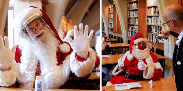 Stalo se známo, jak se Santa Claus připravuje na Vánoce v podmínkách karantény