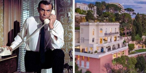 Dům Seana Connerya Coneryho na Riviéře ocenili velmi draze: jak vypadá uvnitř luxusní statek