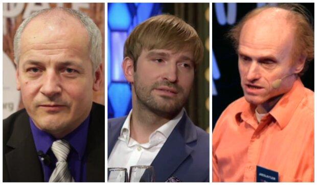 Roman Prymula, Adam Vojtěch a Jaroslav Flegr. Foto: snímek obrazovky YouTube