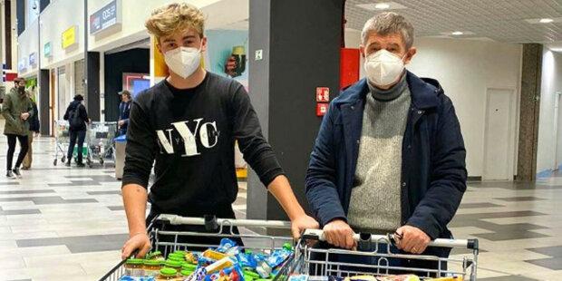 Jak dopadla sobotní sbírka potravin v Česku: Co udělala rodina Andreje Babiše