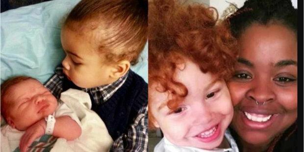 """""""Se hřívou rudých kučier"""": afroamerický pár mal červenovlasé dieťa"""